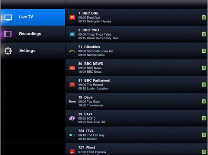 EPG to check for TV Program